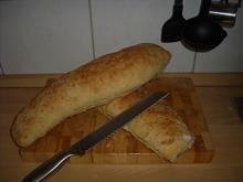 Olivenbaguette - Rezept