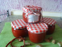 Rhabarber-Erdbeermarmelade - Rezept
