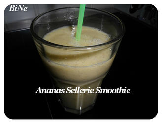 BiNe` S ANANAS SELLERIE SMOOTHIE - Rezept