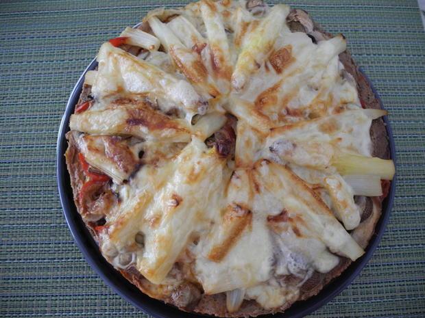 Hackfleisch - Pizza - Rezept