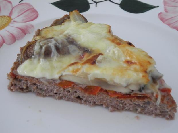 Hackfleisch - Pizza - Rezept - Bild Nr. 6
