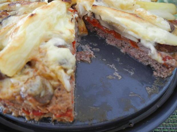 Hackfleisch - Pizza - Rezept - Bild Nr. 7