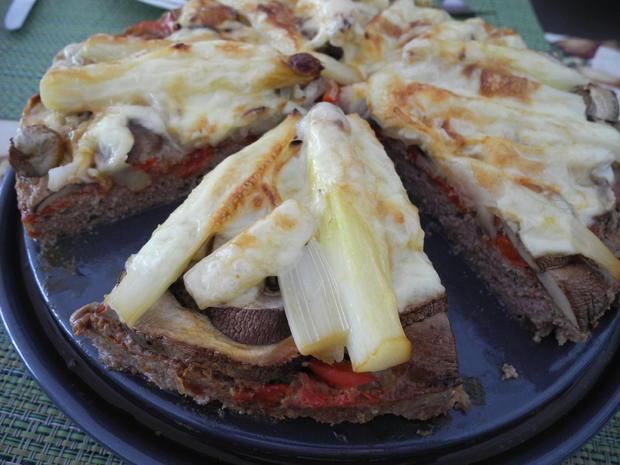 Hackfleisch - Pizza - Rezept - Bild Nr. 8