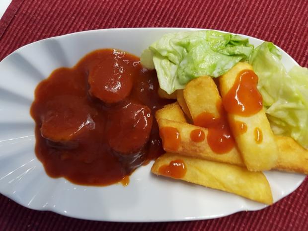 Currywurst mit Pommes à la Biggi - Rezept - Bild Nr. 9