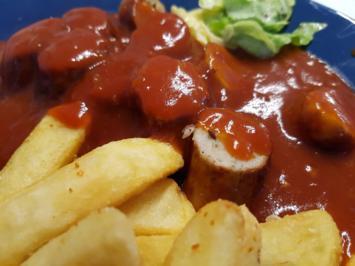 Fleisch / Wurst = Currywurst mit Pommes à la Biggi - Rezept - Bild Nr. 12