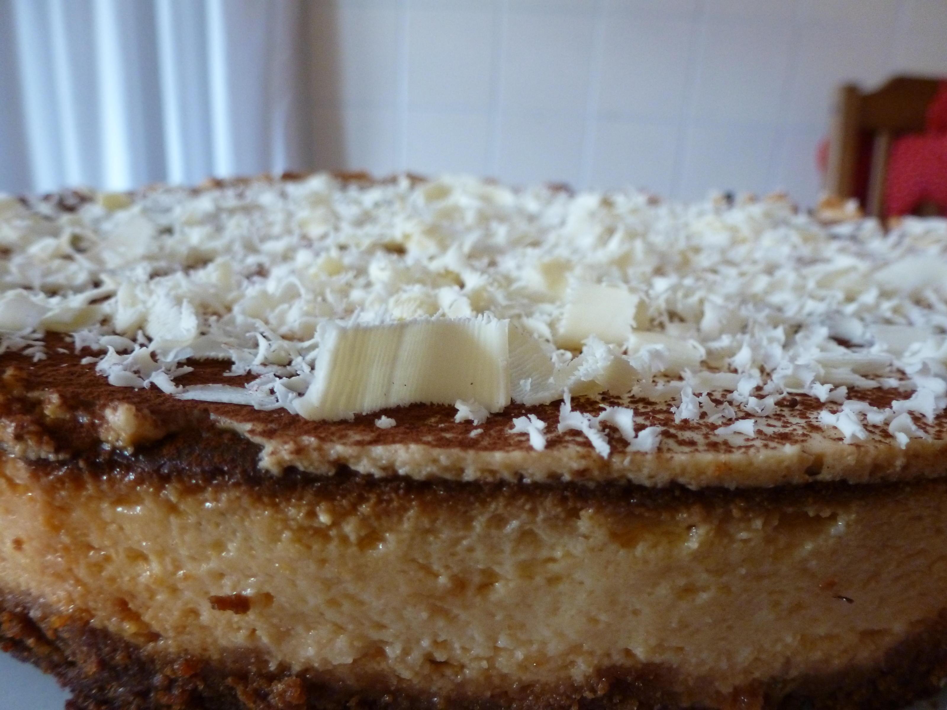 Weiße Schokolade-Käsekuchen - Rezept By sTinsche