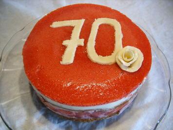 Kleine Erdbeer-Limetten-Quark-Torte - Rezept