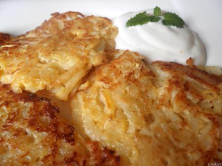 Kartoffel - Apfel - Limetten - Rösti ... - Rezept