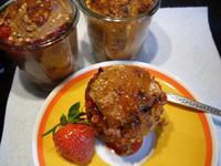 Rhabarberkuchen im Glas - Rezept - Bild Nr. 2