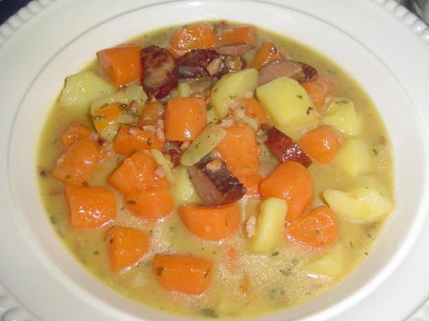 Karotteneintopf aus Resten - Rezept