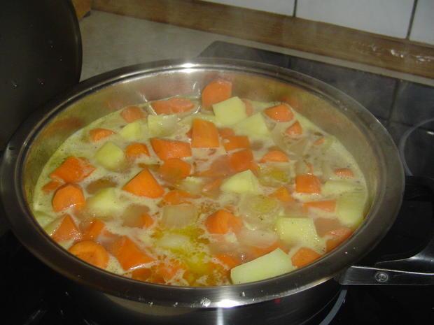 Karotteneintopf aus Resten - Rezept - Bild Nr. 6