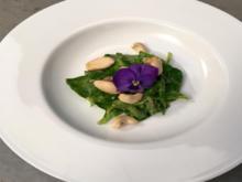 Feldsalat mit karamellisierten Nüssen und einem Avocado-Birnen-Dressing - Rezept - Bild Nr. 10