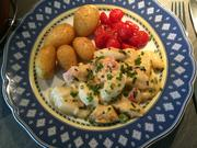 Spargelgratin mit dreierlei Käse und getrockneten Tomaten - Rezept - Bild Nr. 12