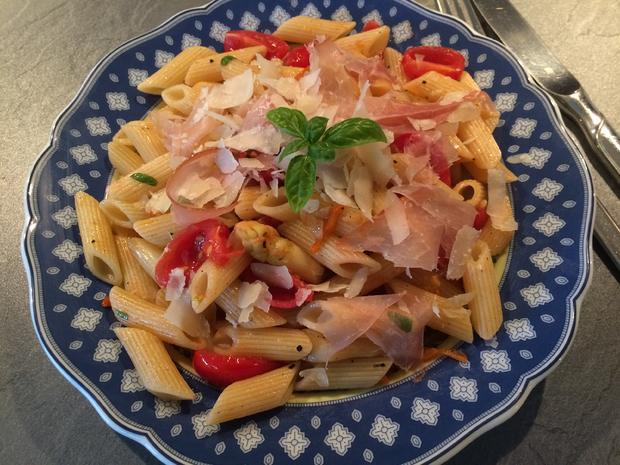 Pasta mit Spargel und Schinken - Rezept - Bild Nr. 27