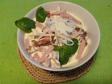 Fleischsalat mit Kochschinken und Pfeffersalami - Rezept - Bild Nr. 30