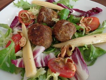 Asia-Salat mit Hackbällchen - Rezept - Bild Nr. 29