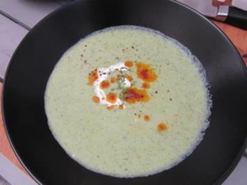 Kalte Gurkensuppe - Rezept