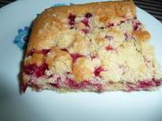 Johannisbeer - Kuchen mit Streusel. - Rezept - Bild Nr. 46