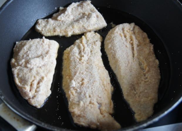 Rotbarsch-Filet mit Chinesischen-Gurkensalat und Rosmarin-Kartoffeln - Rezept - Bild Nr. 76