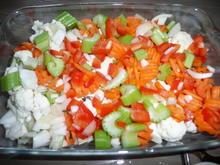 Vegetarisch : Gemüse - Gratin in Bechamel überbacken mit Käse. - Rezept - Bild Nr. 69