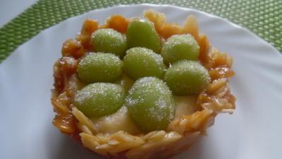Rezept: Mandel-Krokant-Törtchen