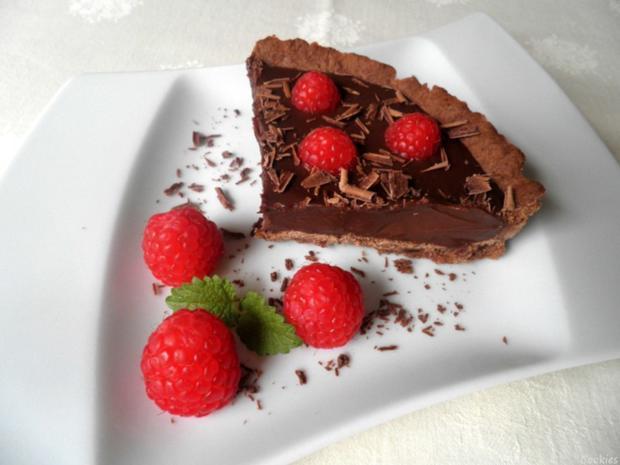 Mini - Schokoladen - Tarte mit Himbeeren ... - Rezept - Bild Nr. 92