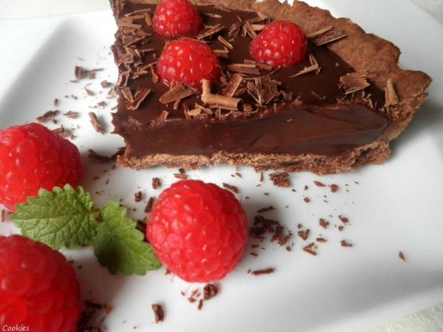 Mini - Schokoladen - Tarte mit Himbeeren ... - Rezept - Bild Nr. 90