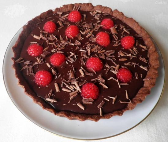 Mini - Schokoladen - Tarte mit Himbeeren ... - Rezept - Bild Nr. 94