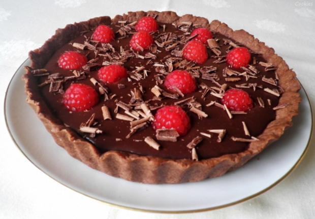 Mini - Schokoladen - Tarte mit Himbeeren ... - Rezept - Bild Nr. 93