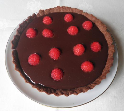 Mini - Schokoladen - Tarte mit Himbeeren ... - Rezept - Bild Nr. 107