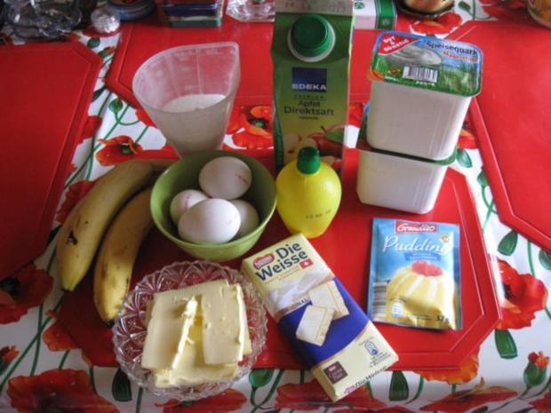 Bananen Käsekuchen mit weißer Schokolade - Rezept - Bild Nr. 91