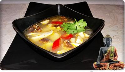 Tom Yam Gai Soup - Rezept - Bild Nr. 101