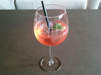 Rezept: Campari Tocco Rosso