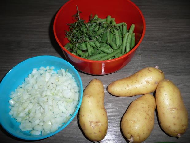 Eintopf : Rindergulasch - Buschbohnen + Kartoffeln. - Rezept - Bild Nr. 101