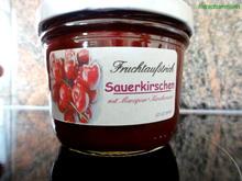 M&G:   SAUERKIRSCH Fruchtaufstrich - Rezept - Bild Nr. 101
