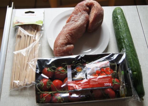 Schweinefiletspieße mit chinesischen Gurkensalat - Rezept - Bild Nr. 34