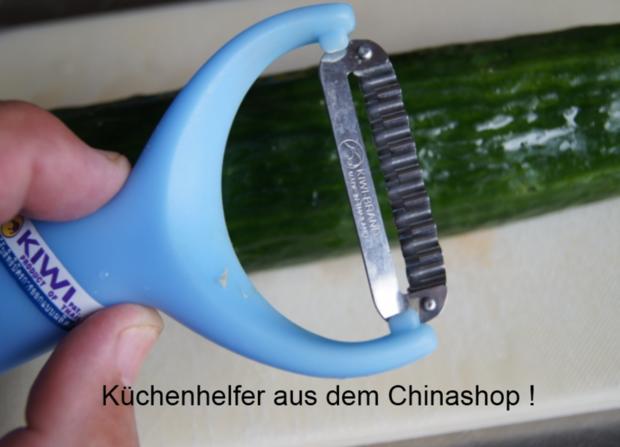 Schweinefiletspieße mit chinesischen Gurkensalat - Rezept - Bild Nr. 37