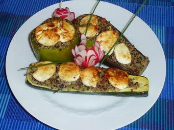 Rezept: Gemüse mit Quinoa Füllung