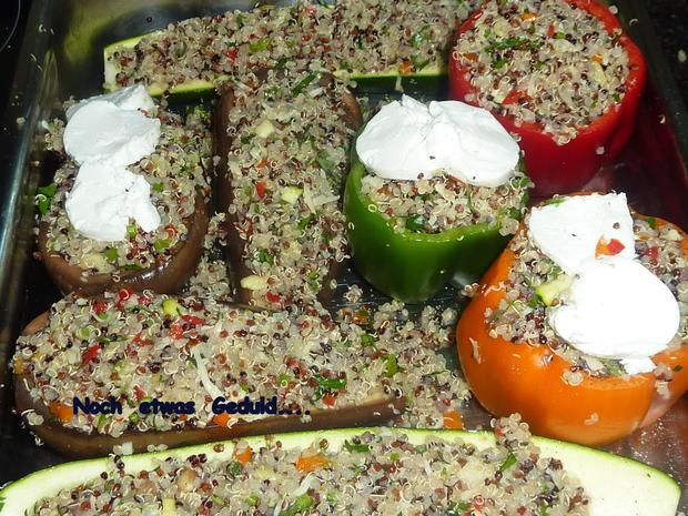Gemüse mit Quinoa Füllung - Rezept - Bild Nr. 24