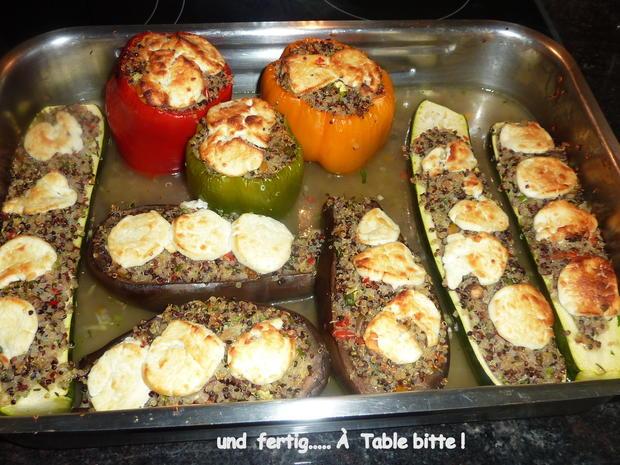 Gemüse mit Quinoa Füllung - Rezept - Bild Nr. 27
