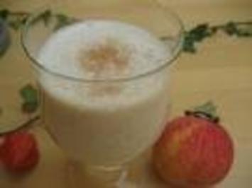 Rezept: Apfel - Zimt - Bananen - Getränk