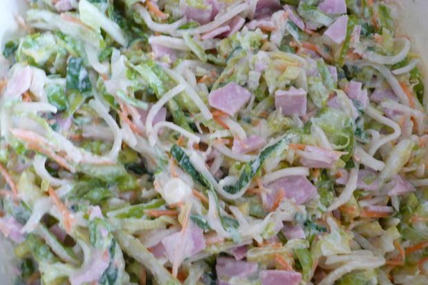 Spitzkohl - Salat - Rezept - Bild Nr. 8