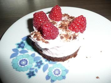 Himbeer - Küchlein oder Dessert. - Rezept - Bild Nr. 8