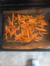 Süßkartoffel- Pommes - Rezept
