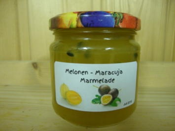 Melonen - Maracujamarmelade - Rezept
