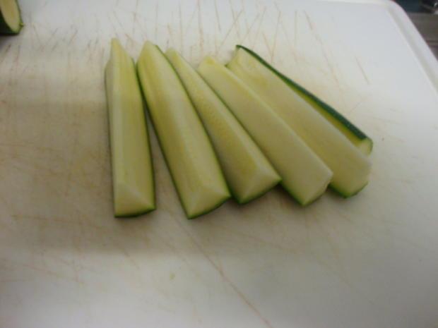 eingelegte Zucchini Sticks - Rezept - Bild Nr. 3