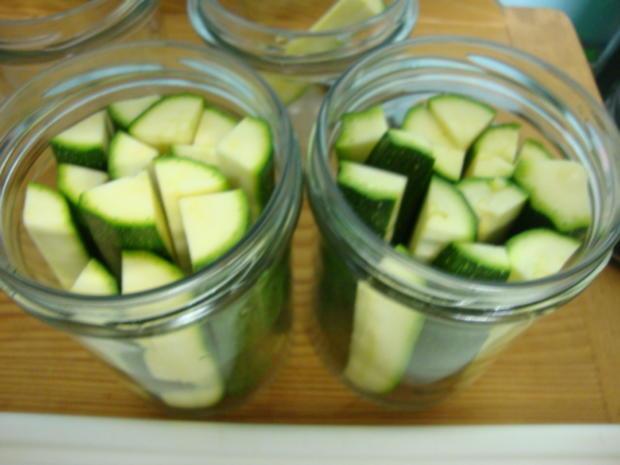 eingelegte Zucchini Sticks - Rezept - Bild Nr. 4