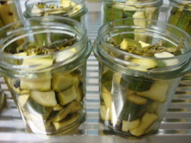 eingelegte Zucchini Sticks - Rezept - Bild Nr. 6