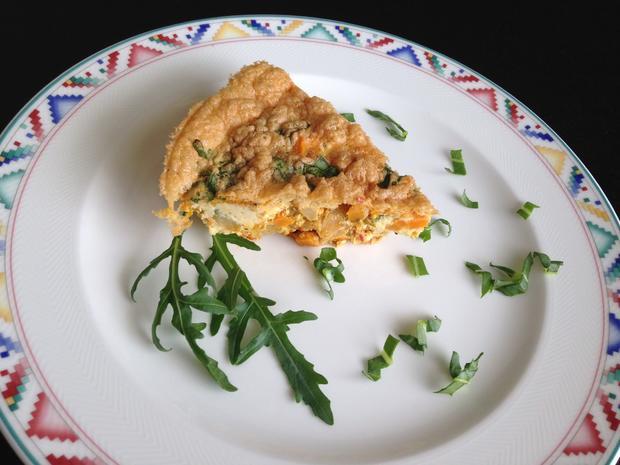 Gemüse-Fritatta mit Kräuter-Schafsfeta - Rezept - Bild Nr. 7