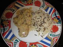 Schweinefilet mit Pilzsauce - Rezept